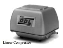 Gast linear compressor