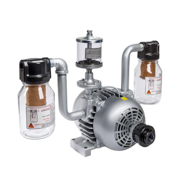 gast separate drive rotary vane vacuum pump